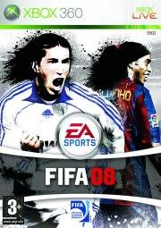 Carátula de FIFA 08 - Xbox 360