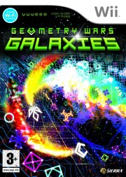 Carátula de Geometry Wars: Galaxies - Wii