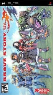 Carátula de Brave Story: New Traveler - PSP