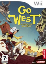 Carátula de Lucky Luke: Go West! - Wii
