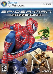 Car�tula oficial de Spiderman Friend or Foe PC