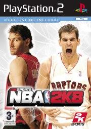 Carátula de NBA 2K8 - PS2