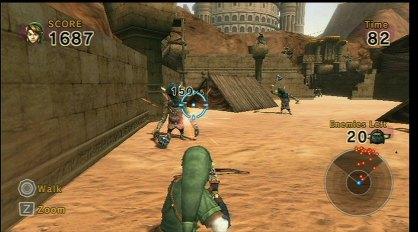 Link's Crossbow Training análisis