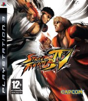 Carátula de Street Fighter IV - PS3