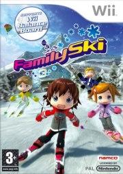 Carátula de Family Ski - Wii