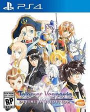 Carátula de Tales of Vesperia: Definitive Edition - PS4