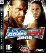 Carátula de WWE SmackDown vs. Raw 2009 - PS3