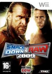 Carátula de WWE SmackDown vs. Raw 2009 - Wii