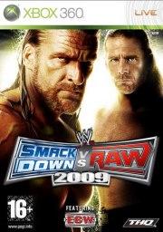 Carátula de WWE SmackDown vs. Raw 2009 - Xbox 360