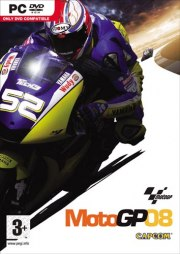 Car�tula oficial de MotoGP 08 PC