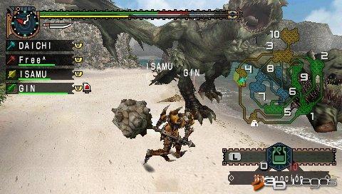 Monster Hunter Freedom Unite - Impresiones multijugador