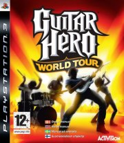 Carátula de Guitar Hero World Tour - PS3