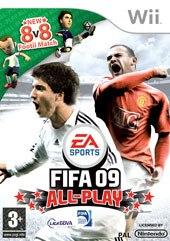 Carátula de FIFA 09 - Wii