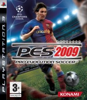 Carátula de PES 2009 - PS3