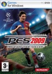 Car�tula oficial de PES 2009 PC