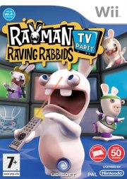 Carátula de Rayman Raving Rabbids TV Party - Wii