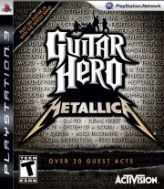 Carátula de Guitar Hero: Metallica - PS3