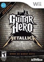 Carátula de Guitar Hero: Metallica - Wii