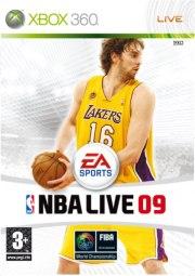 Carátula de NBA Live 09 - Xbox 360