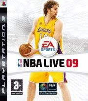 Carátula de NBA Live 09 - PS3