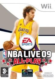 Carátula de NBA Live 09 - Wii