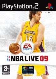 Carátula de NBA Live 09 - PS2