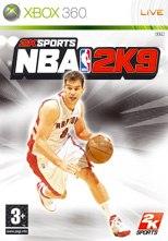 Carátula de NBA 2K9 - Xbox 360