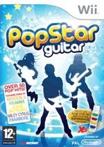 Carátula de PopStar Guitar - Wii