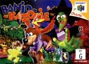 Carátula de Banjo-Kazooie - N64