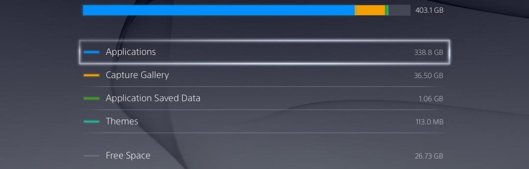 Los juegos que más ocupan en PS4 y Xbox One