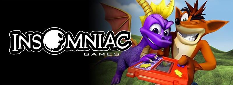 Naughty Dog e Insomniac Games tuvieron una grandísima relación, y como sucedió con Crash, el equipo fundado por Ted Price perdió a Spyro the Dragon, también en manos de Universal. Antes del estreno de dar con la nueva dupla, Insomniac pasó por dos videojuegos cancelados. Ante los problemas que tuvieron para encontrar un motor acorde para su nuevo juego en PS2, Naughty les cedió el motor de Jak and Daxter para hacer realidad Ratchet and Clank, que llegaría a las tiendas en 2002. Aunque la marca ha estado desarrollando durante años en consolas PlayStation, también se le ha podido ver con desarrollos multiplataforma como Song of the Deep o en exclusiva para Microsoft con Sunset Overdrive. Actualmente trabajan en el nuevo título de Spider-Man, exclusivo de PS4.