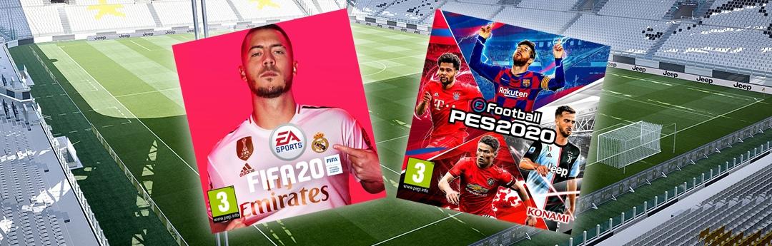 FIFA 20 o PES 2020: 7 cosas que tienes que tener en cuenta para elegir tu juego de fútbol