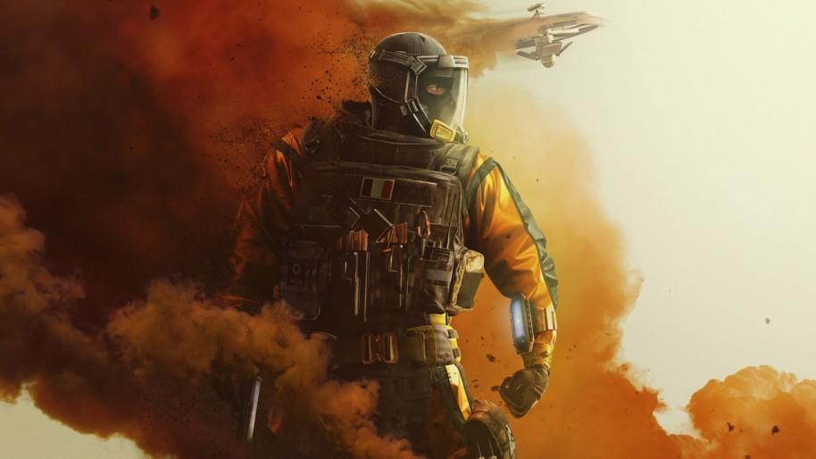 Tom Clancy's Rainbow Six Siege.