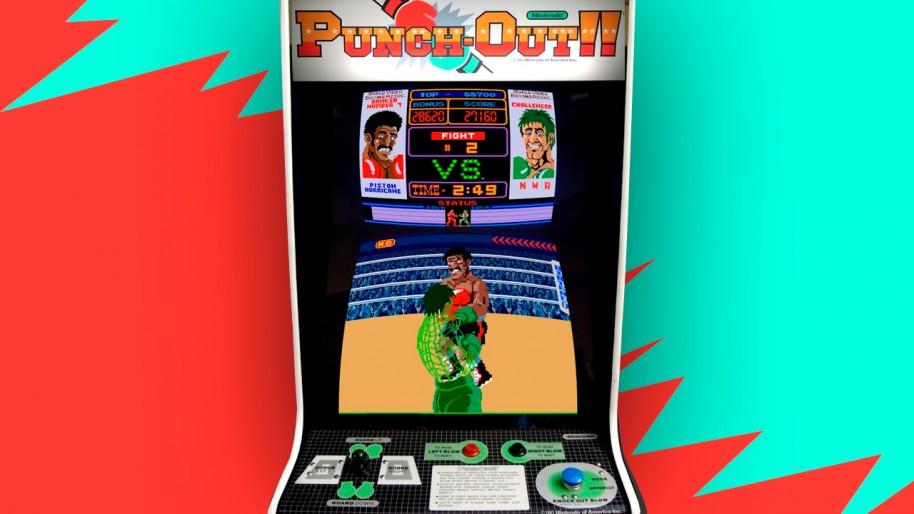 Tezuka empezó a trabajar en Nintendo a tiempo parcial, y uno de sus primeros trabajos fue con los diseños de la recreativa de Super Punch-Out!!