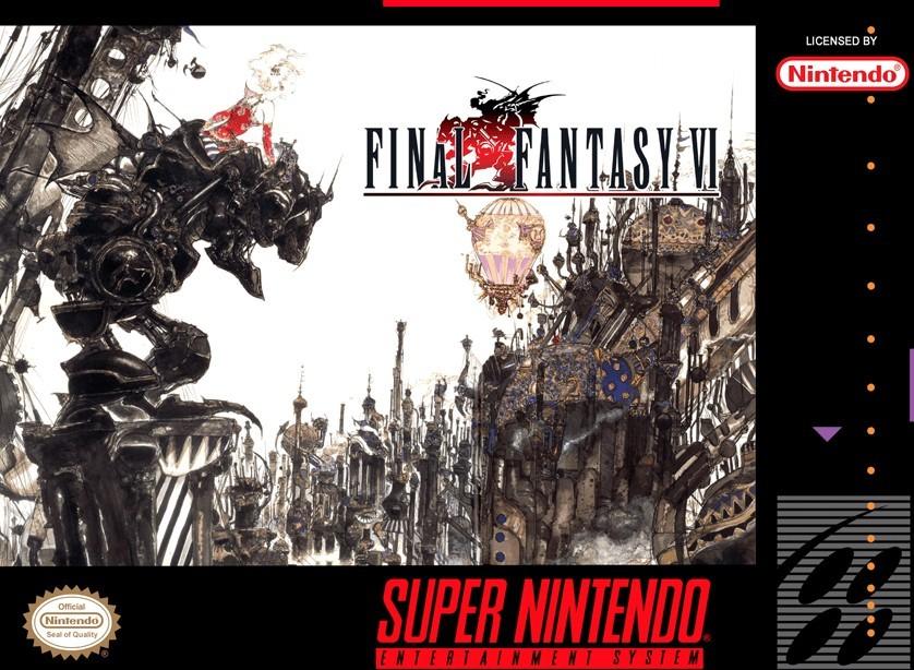 Final Fantasy VI fue el último título de SNES y sigue siendo uno de los títulos más populares de la saga.
