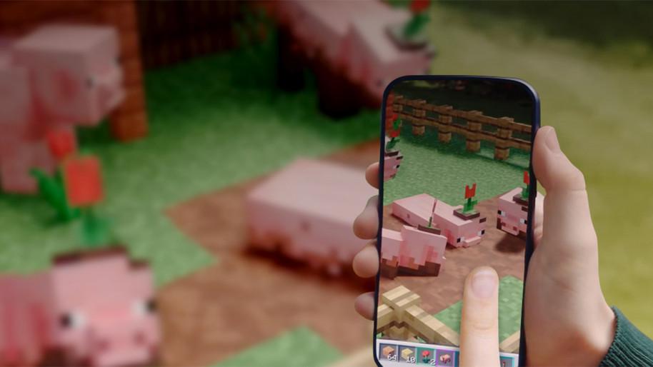 Minecraft también ha querido sacar partido a tecnologías emergentes: Minecraft Hololens y Minecraft Earth.