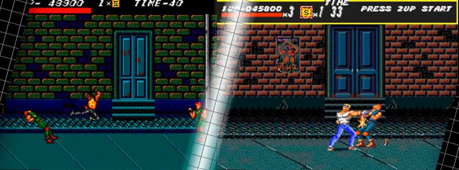 Sí, las animaciones y la cantidad de enemigos que aparecían simultáneamente en pantalla descendieron de forma drástica, pero se las ingeniaron para crear una experiencia muy competente en 8 bits con muchas de las características que convertirían en leyenda al beat 'em up de Sega. Con la música, desgraciadamente, no había mucho que hacer: lo de Mega Drive sigue siendo insuperable a día de hoy.