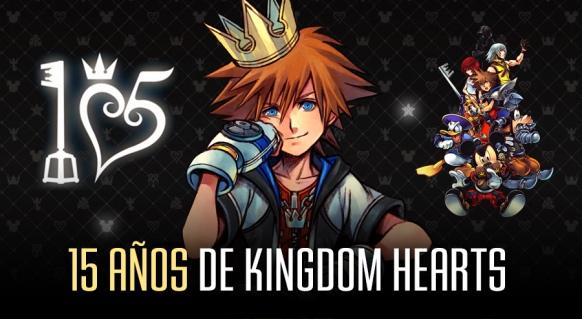 Reportaje de 15 años de Kingdom Hearts