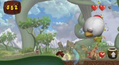 Donkey Kong Jungle Beat (Nintendo Wii)