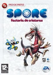 Car�tula oficial de Spore: Factoria de criaturas PC
