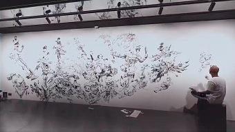 Crean un increíble mural con los personajes de League of Legends