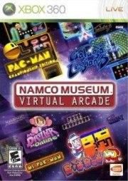 Carátula de Namco Museum: Virtual Arcade - Xbox 360