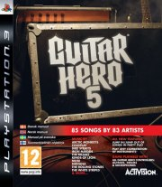 Carátula de Guitar Hero 5 - PS3