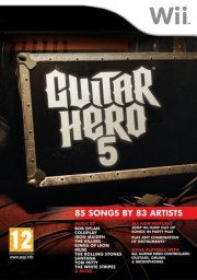 Carátula de Guitar Hero 5 - Wii
