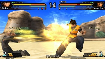 Dragon Ball Evolution PSP