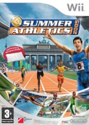 Carátula de Summer Athletics 2009 - Wii