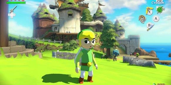 Zelda The Wind Waker Wii U
