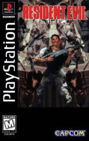 Carátula de Resident Evil - PS1