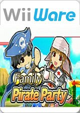 Carátula de Family Pirates Party - Wii