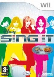 Carátula de Disney Sing it! - Wii